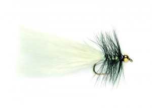 Nugget Dancer black and white Streamer
