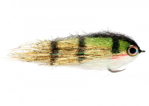 Clydesdale Gold Perch Pikefly Hechtstreamer
