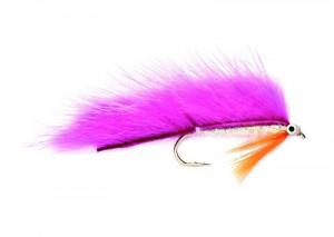 Minkie pink  Zonker Streamer Forellenzonker