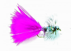 Pink Bead Eye Streamer