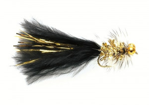Gold Bead Eye Streamer