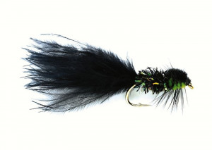 Ugly Bugger Black Streamer 10