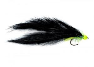 Freds Flapper black Zonker Streamer 10