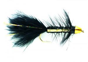 Wooly Bugger Golden Bullet Black Flash Conehead Streamer