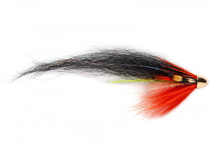 RS Hot Orange Solar Monkey Tube Fly Lachstubenfliege