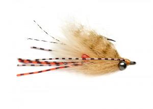 Itchy Trigger light brown tan Salzwasserfliege