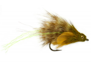 Goby oliv Meerforellenfliege Streamer Claus Eriksen Fulling Mill