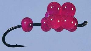 Z-Egg-Z King Salmon Pink Lady Size 2 zum Fliegenfischen bei Flyfishing Europe