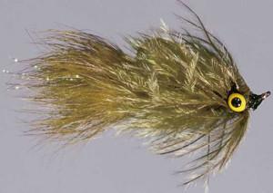 Mad Chicken Leech Olive Size 8, Fliegen zum Fliegenfischen auf Karpfen bei Flyfishing Europe