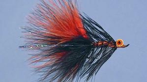 Go-Get-em Steely Black/Orange Size 4 zum Fliegenfischen bei Flyfishing Europe