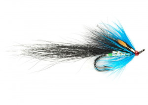 Gledswood Stoats Tail Blue Salmon Fly Lachsfliege