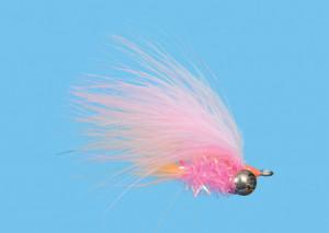 Deep Six Salmon Flesh Size 6, Fliege zum Fliegenfischen auf Pazifiklachs & Steelhead bei Flyfishing Europe
