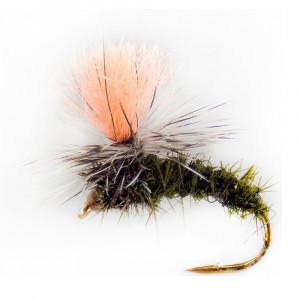 Catchy Flies Klinkhammer olive Trockenfliege CF42