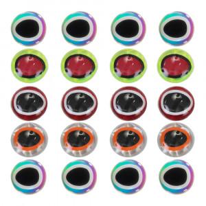 Epoxy Augen 3D ovale Pupille Klebeaugen
