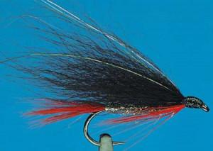 Black, Orange and Silver 6, Küstenfliegen zum Fliegenfischen auf Meerforelle bei FFE