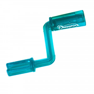 OmniSpool Crank Handle Blau
