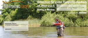 Flyfishing Europe Gutschein Fliegenfischerkurs Zweihand