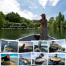 Flyfishing Europe Feierabend-Guiding mit Boot am Möhnesee