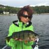 Mirjana Pavlic Fliegenfischen Angel Guiding Möhnesee Barsch