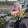 Eine Winston AIR Fliegenrute im Einsatz beim Fliegenfischen