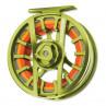 Orvis Hydros SL Fliegenrolle citron Rueckseite
