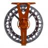 Waterworks-Lamson Force II SL Fliegenrolle orange/grey Rueckseite
