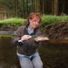 Mirjana Pavlic von Flyfishing Europe war mit einer Saracione Fliegenrolle erfolgreich.