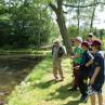 Fliegenfischer Ensteiger-Kurs Anfänger lernen das Fliegenfischen