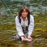 Mirjana Pavlic Nymphenfischen Fliegenfischen lernen Flyfishing Europe