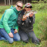 Streamerkurs zum Lernen des Fliegenfischens mit Streamern