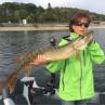Mirjana Pavlic Hechtkurs Fliegenfischen Boot Angeln Möhnesee