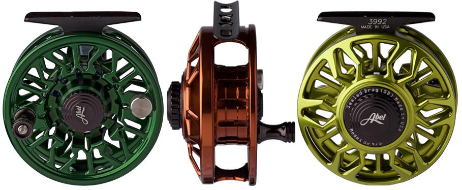 Abel SD (Sealed Drag) Fliegenrollen mit gekapseltem Bremssystem