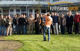 Große Frühjahrs-Fliegenfischershow bei Flyfishing Europe am Möhnesee