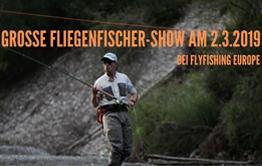 Grosse Fruehjahrs Fliegenfischershow