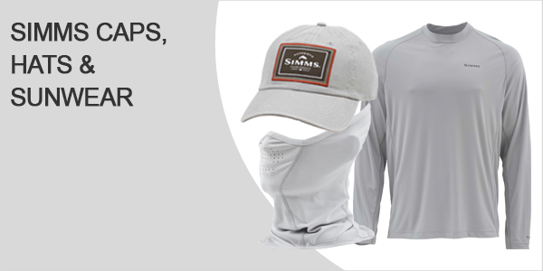 Simms Caps Kappen Hats und Sunwear