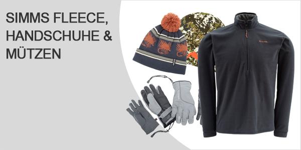 Simms Fleece Handschuhe und Mützen