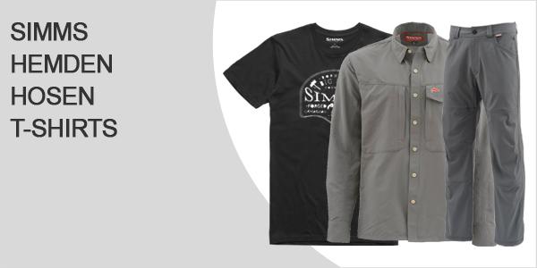 Simms Hemden Hosen und T-Shirts